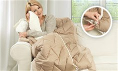 Patura pliabila 200x200 Dormeo Warm and Cozy